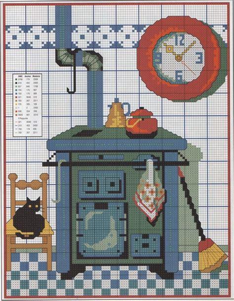 graficos punto de cruz cocina m 225 s de 25 ideas incre 237 bles sobre punto de cruz cocina en