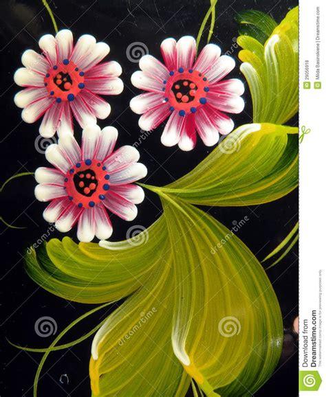 imagenes flores pintadas flores pintadas foto de archivo imagen de fondo macro