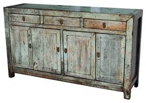 furniture buffets and sideboards wood distressed saddlemeyer buffet asian