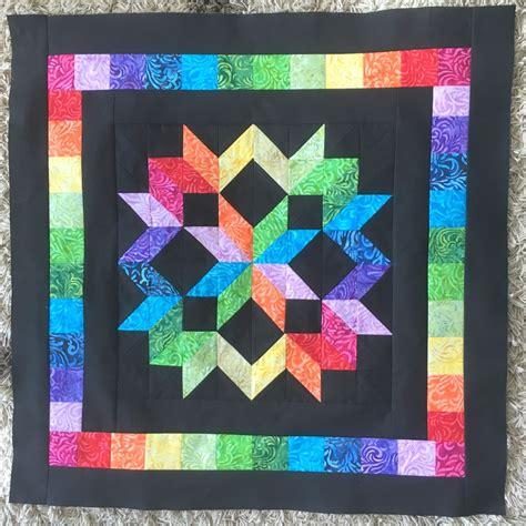 Quilt Centre by Rainbow Quilt Progress The Crafty Mummy