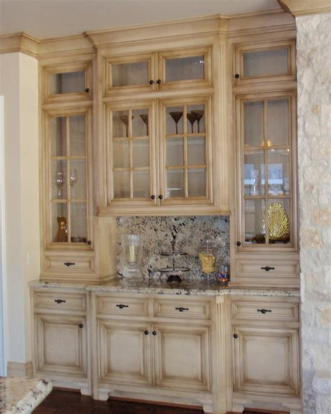 Distressed Kitchen Cabinet by Life As An Optimist Creates Endless Possibilities Not So