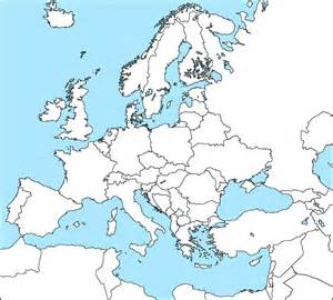 Map Or Europe by Blank Map Of Europe Dr Odd For Incredible Ireland Map