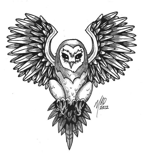 flying owl tattoo designs 28 flying owl designs