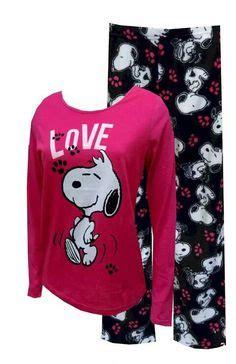 Pijama Snoopy Happy peanuts snoopy junior cut pink plush pajama peanuts