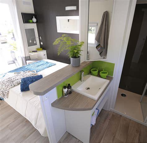 Camping Landes mobil home taos 6 places 40 m² 3 chambres ambiance conviviale et chaleureuse