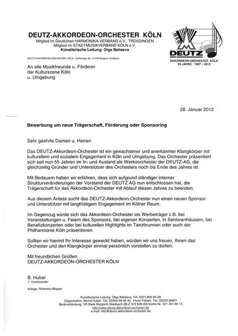 Anschreiben Zahlungserinnerung Die Brief Vorlage F 252 R Dieses Sponsoren Anschreiben Macht Zwar Optisch Einen Professionellen