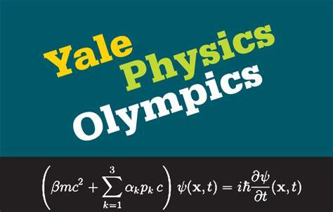 yale physics olympics department physics