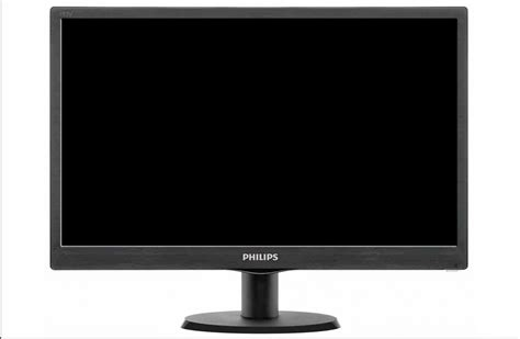 Monitor Philips philips v line 193v5lsb2 led monitor 18 5 quot network components and solutions