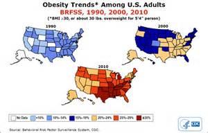 2014 united states obesity map