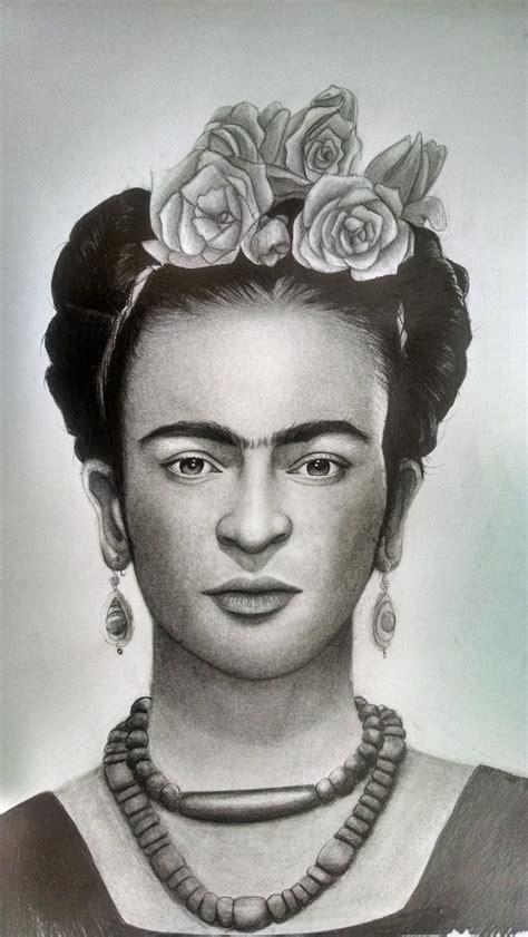 imagenes realistas de frida kahlo retrato realista frida kahlo arte taringa