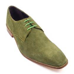 olive shoes shop olive green suede derby mens shoes leather sole