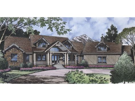 delray luxury craftsman home plan 047d 0091 house plans