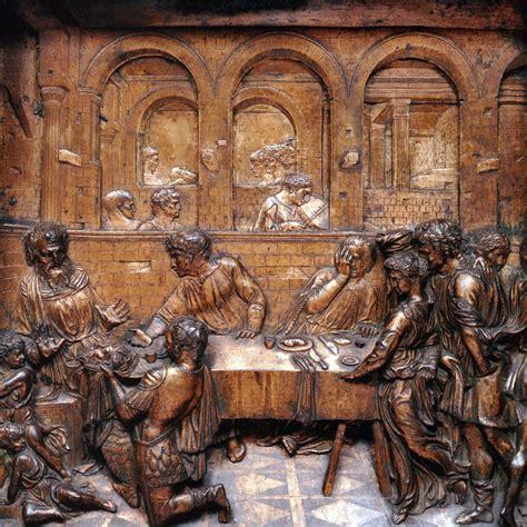 il banchetto di erode donatello storia dell arte