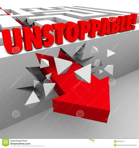 the power of words review unstoppable the unstoppable arrow through maze wall nonstop energy power
