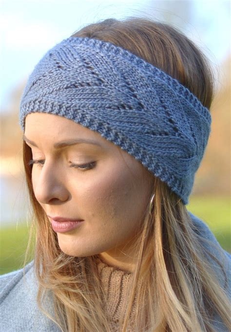 knitted headband earwarmer headband knitting patterns in the loop knitting