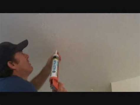 Ceiling Paint To Cover Cracks by Caulking A Ceiling Quot Quot