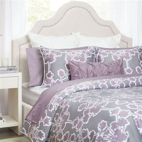 Lilac Bedding by Lilac Bedding The Ashbury Lilac Crane Canopy