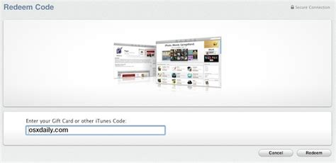 How Do You Use Itunes Gift Card - redeem an itunes gift card