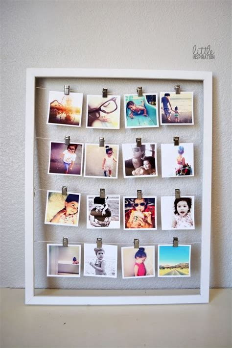 25 best ideas about framed diy frame best 25 diy picture frame ideas on pinterest