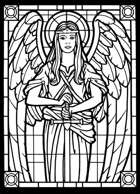 stained glass coloring book amazing stained glass coloring book the of