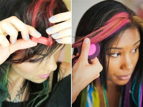 ways to color hair 7 different ways to add color to your hair without dyeing