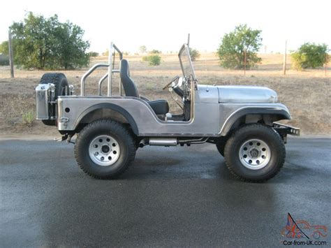 jeep body 1970 jeep cj5 handmade stainless steel body