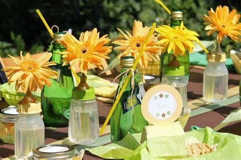 Handmade Centerpieces For Baby Shower - easy baby shower centerpieces baby shower ideas