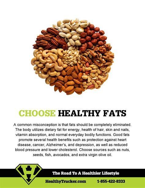 healthy fats 2014 choosing healthy fats healthy trucker tip 3 the rear