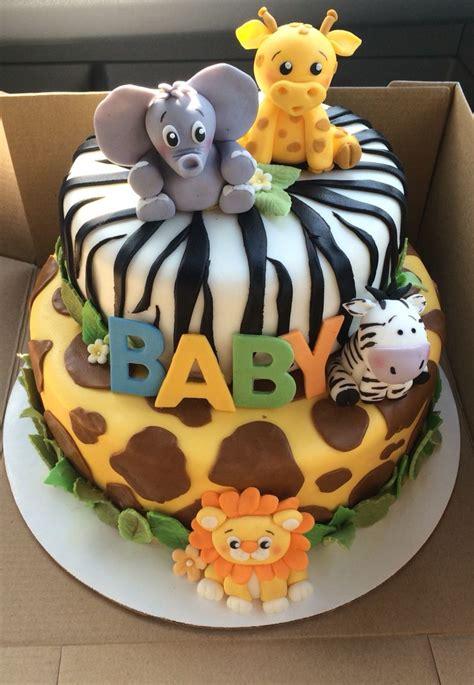 Safari Baby Shower Ideas For Boy safari baby shower cake baby boy shower