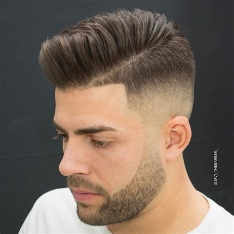 Mens Fades Hairstyles by Pompadour Fade Haircuts
