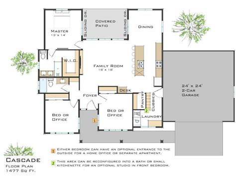 medcottage floor plan zip kit homes plans and pricing small house plans
