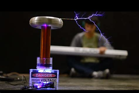 Build A Tesla Coil At Home Onetesla Tesla Coil Diy Kit Make Your Own Singing