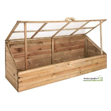 serre de jardin en bois serre de jardin en bois ch 226 ssis pour semer jardipolys pas cher