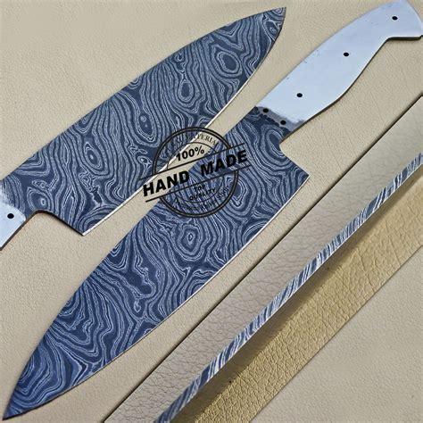 new damascus cleaver razor knife custom handmade knife