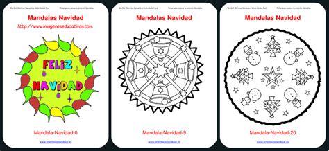 imagenes educativas mandalas navidad colecci 243 n mandalas navidad colorear 2015 imagenes educativas