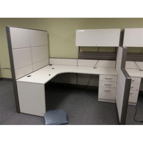 beige office desk tayco beige 4 pod office systems furniture desks