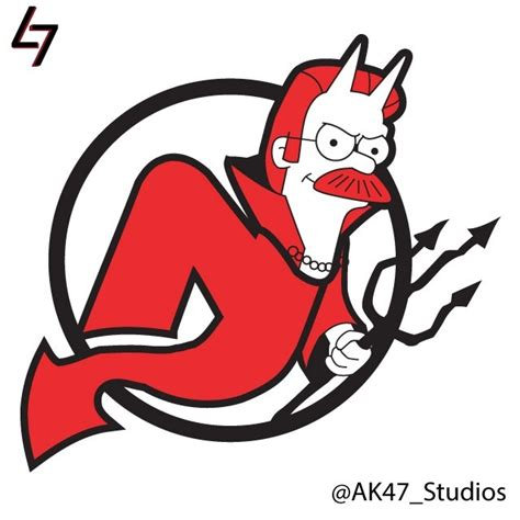 Backyard Sports Characters Nhl Logos Mashed Up With Simpsons Characters