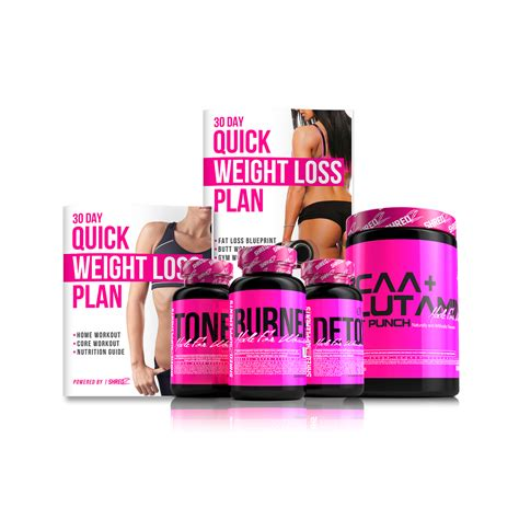 weight loss quickly shredz 30 day weight loss plan supplements for