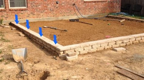 paver patio slope how to build a paver patio on a slope paver patio slope