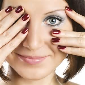 classique hair and nail salon nail paint design