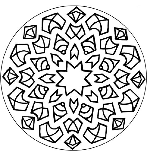 mandala coloring pages advanced level coloring home