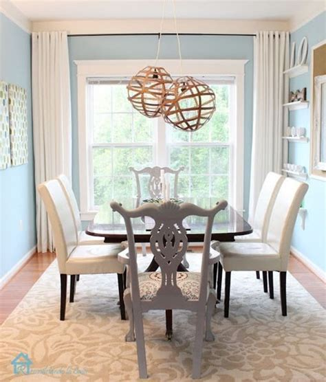 blue dining room curtains dining rooms curtains and blue on pinterest