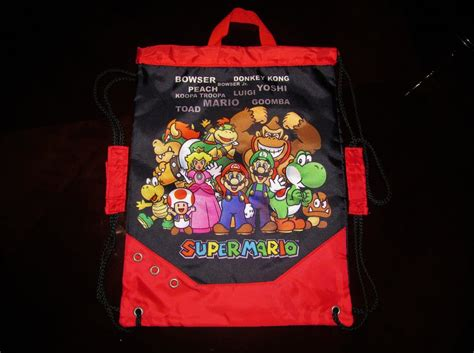 Bros Cemara 3 mario bros travel bag by jcgroovez on deviantart