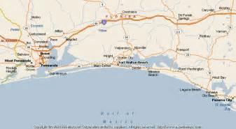map of florida fort walton map of fort walton