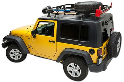 Jeep Top Roof Rack 1987 1995 Jeep Wrangler Roof Rack Accessories Surco J400