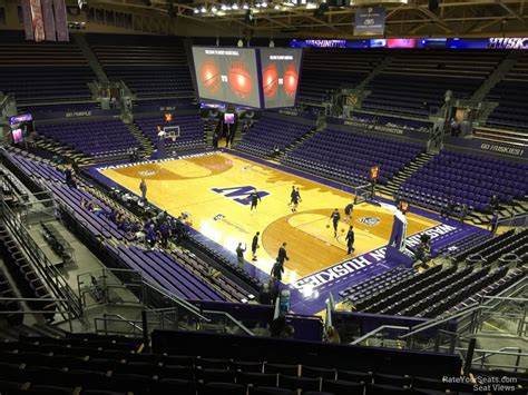 Alaska Court View Search Alaska Airlines Arena Section 13 Rateyourseats