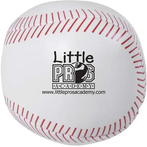 Baseball Giveaways - promotional baseball pillow balls with custom logo for 1 46 ea