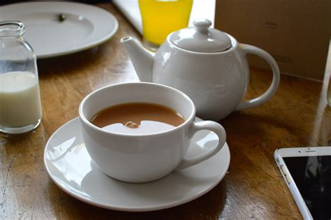 A Pot Of Tea post box ponteland afternoon tea cloud in a teacup
