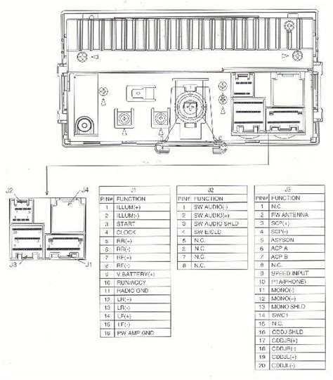 89 ford radio connector wiring diagram get free image
