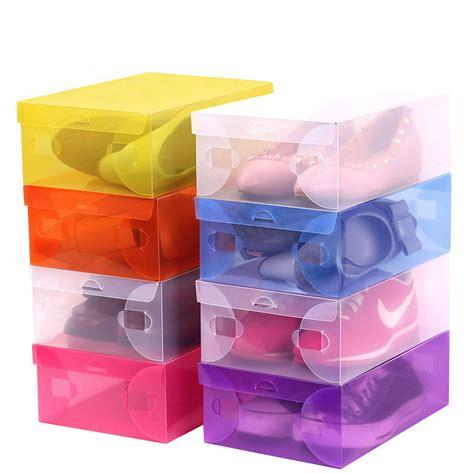 shoe storage cheap get cheap plastic shoe box aliexpress